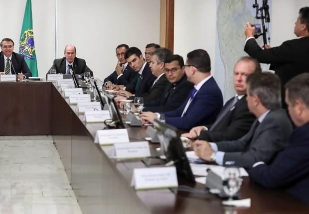 Governadores da Amazônia Legal querem regularização fundiária (Foto: Marcos Corrêa/PR)