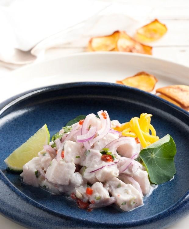 Ceviche Thai (Foto: Iara Venanzi / Editora Globo)
