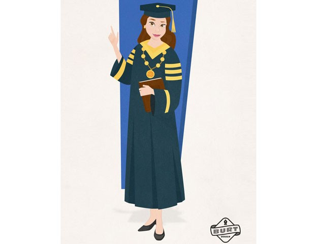 Bela, de A Bela e a Fera, é reitora de uma universidade e está comprometida com a garantia igualitária e acessível de estudo a toda a população. (Foto: Reprodução / Matt Burt)