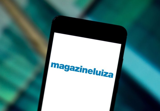 Logo da Magazine Luiza (Foto: Rafael Henrique/SOPA Images/LightRocket via Getty Images)