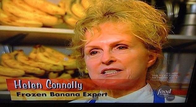 Especialista em banana congelada