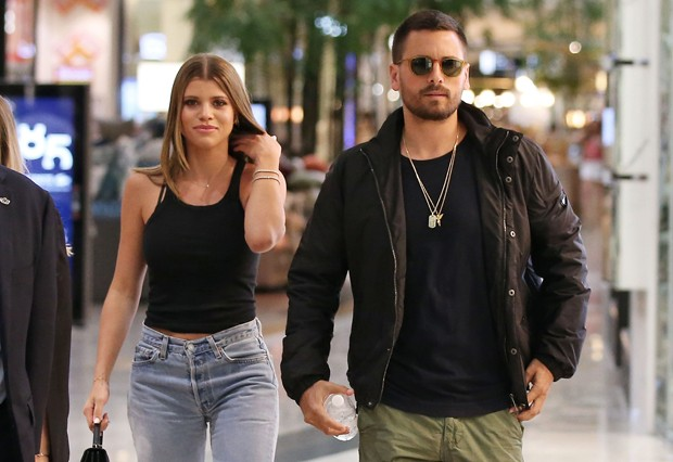 Sofia Richie e Scott Disick (Foto: Getty Images)