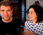 Maria Flor e o marido, Emanuel Aragão | Reprodução