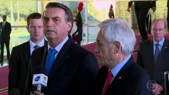 Chile oferece aviões para o combate às queimadas na Amazônia e Bolsonaro aceita