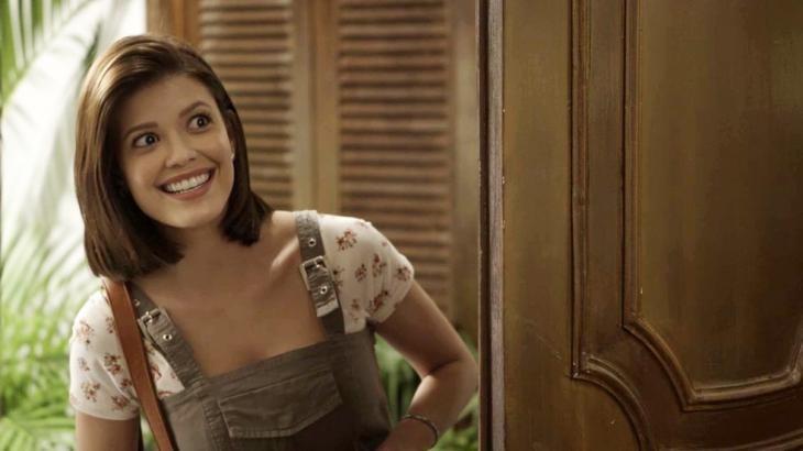 Vitória Strada é Kyra em 'Salve-se quem puder' (Foto: TV Globo)
