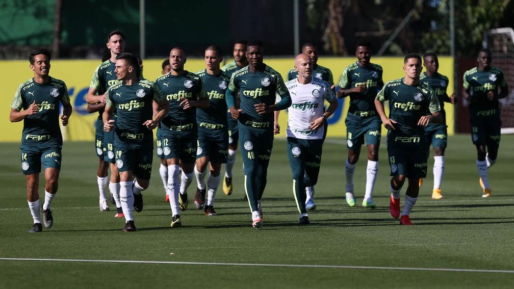 Veja provável escalação: Palmeiras tem só 12 atletas do elenco profissional para enfrentar o Goiás