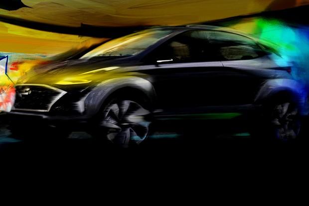 Saga EV é conceito elétrico do novo HB20X (Foto: Divulgação)