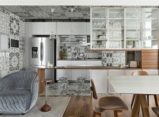 Arquiteto comenta os principais dilemas da decoração: O que fazer com a variação de pisos ao integrar ambientes?  (Foto: Divulgação)