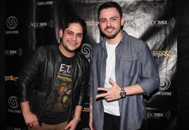Jorge & Mateus (Foto: Léo Franco/AgNews)