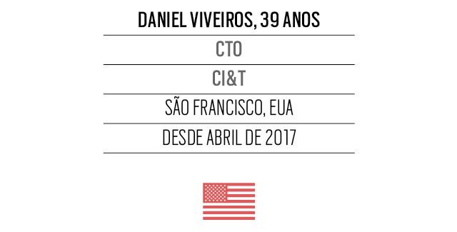 Daniel Viveiros, 39 anos CTO CI&T (Foto: Arquivo pessoal)