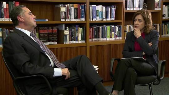 Crise no RJ não é para enfrentar 'com bala de prata', diz Barroso