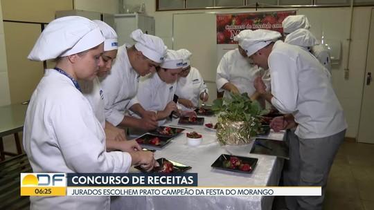 Candidatos participam do Concurso de Receitas da Festa do Morango