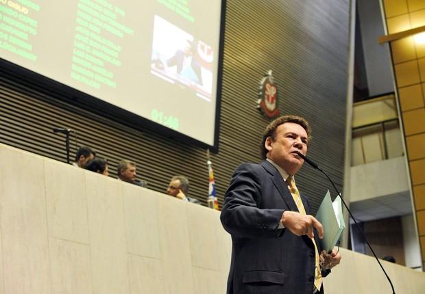 O deputado estadual em São Paulo, Campos Machado (PTB) (Foto: Facebook/campos Machado)
