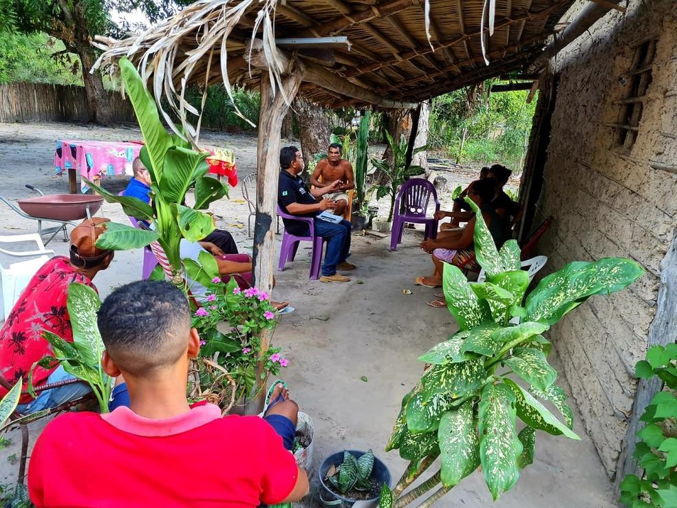 Caso de raiva humana foi registrada no Povoado de Santa Rita, em Chapadinha — Foto: Divulgação/Governo do Maranhão
