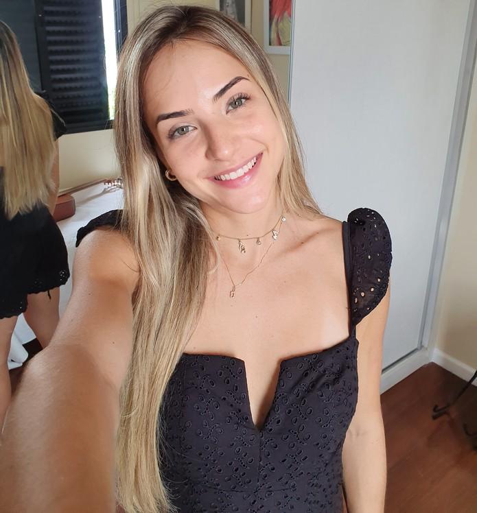 Última selfie de Gabi Martins — Foto: Arquivo pessoal