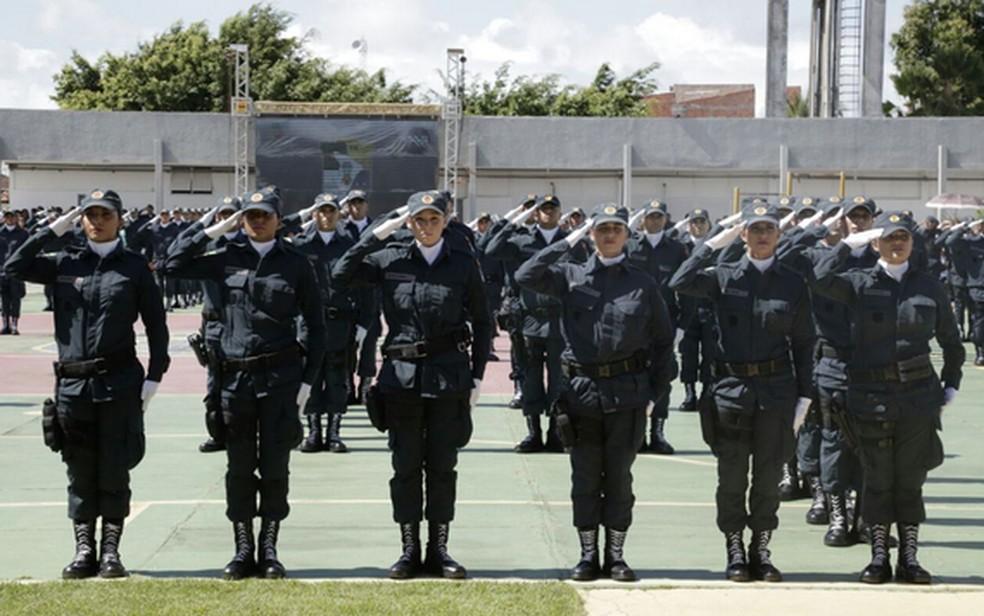 Os convocados passarão por curso de formação de praças — Foto: SSP/Arquivo