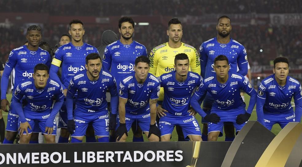 Cruzeiro disputou as duas últimas edições da Copa Libertadores — Foto: Juan Mabromata/AFP