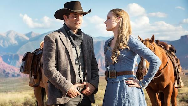 A atriz Evan Rachel Wood em cena de Westworld (Foto: Reprodução)