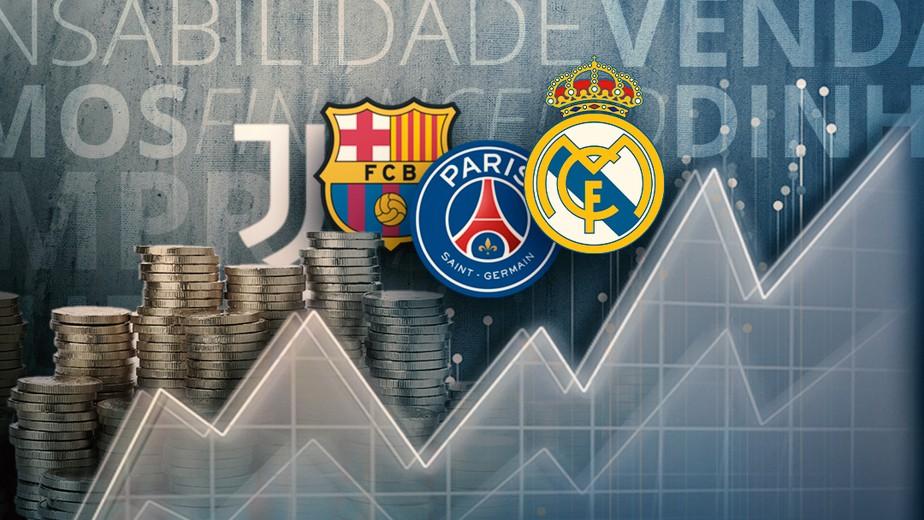 Barcelona, PSG, Real... veja grandes que podem enfrentar problemas com Fair Play Financeiro