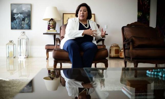 Eliana Calmon, ministra aposentada do STJ, ex-corregedora CNJ