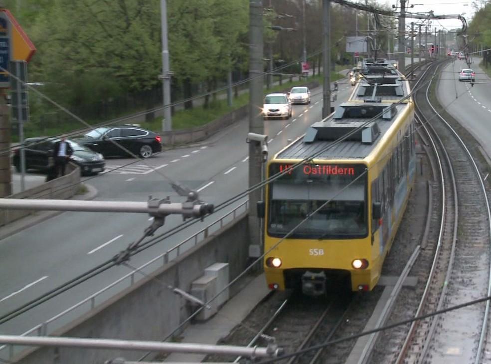 VLT circula na Alemanha (Foto: Reprodução / TV Tribuna)
