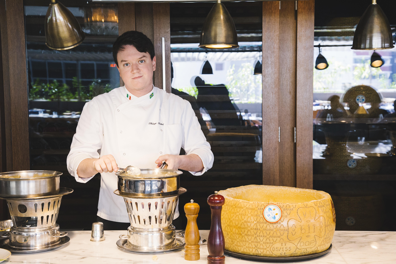 Thiago Tatini, o jovem chef do Casimiro, nos Jardins (Foto: Divulgação)