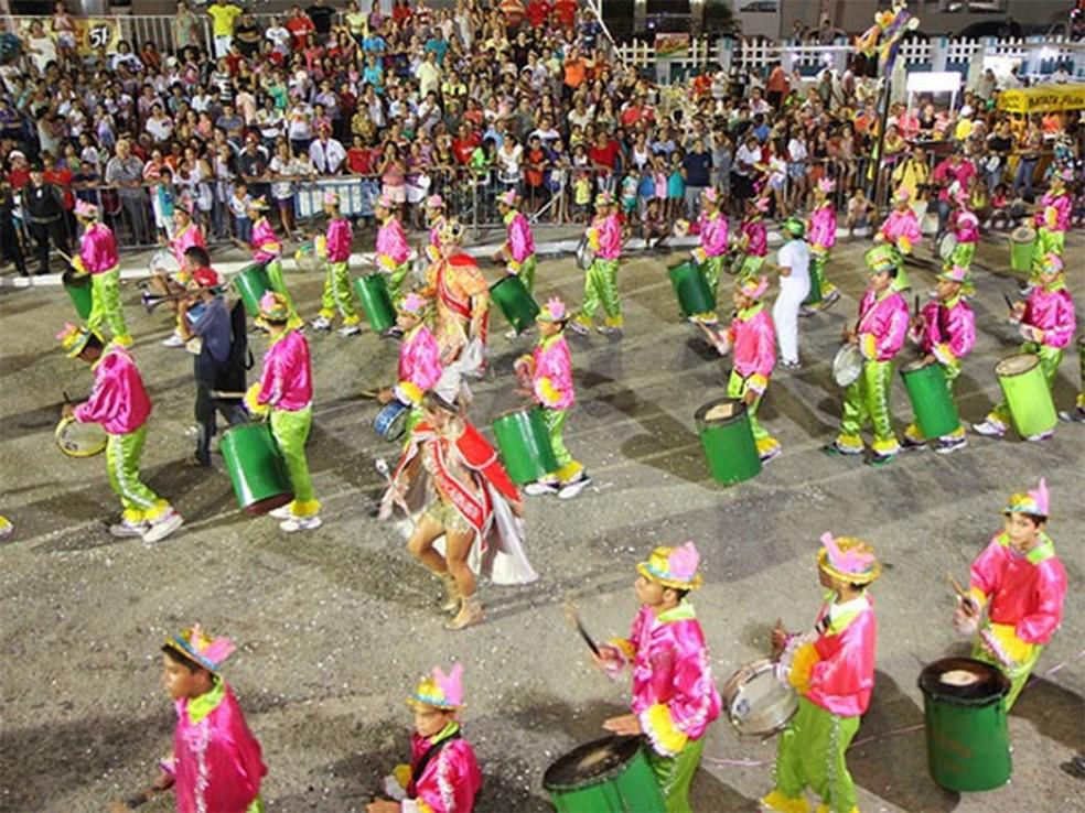 Crise econômica impede financiamento do carnaval — Foto: Divulgação/Prefeitura de Mossoró