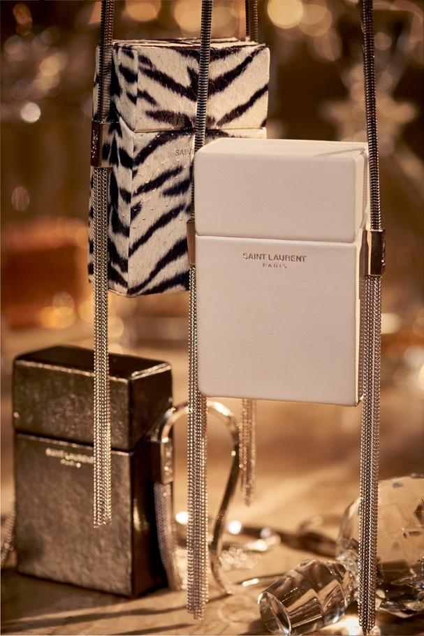 Minimicro bolsas Saint Laurent (Foto: Xico Buny/Arquivo Vogue)