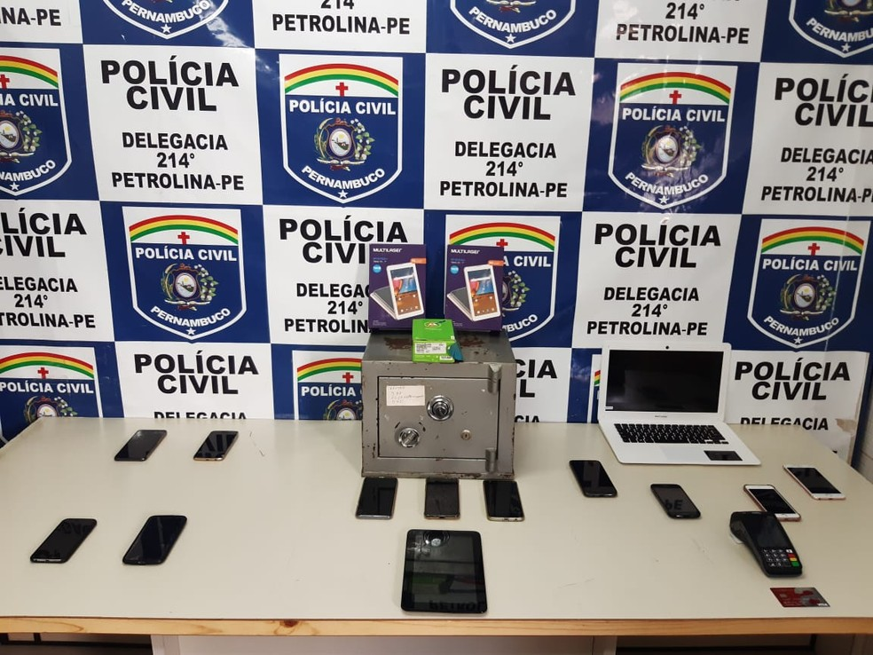 Polícia Civil desencadeou operação Delivery em Petrolina  — Foto: Divulgação/ Polícia Civil