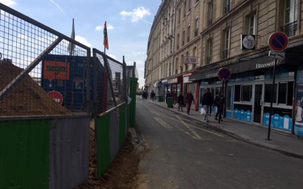Rue d'Alsace, em Paris — Foto: RFI/Patricia Moribe