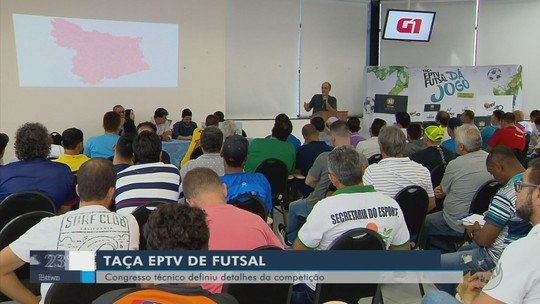 Chaves da 30ª Taça EPTV de Futsal são definidas; confira onde está a equipe da sua cidade