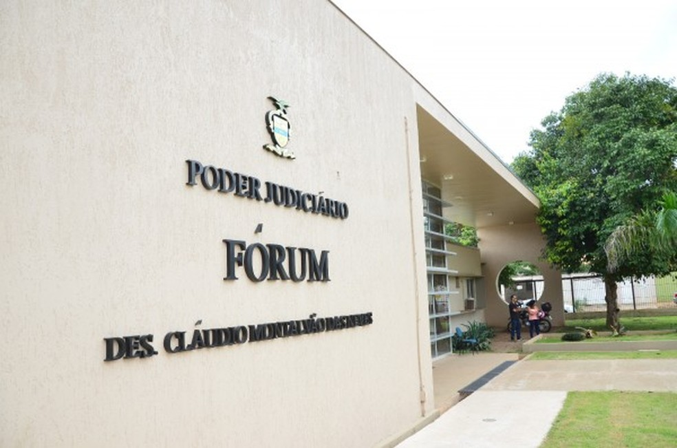 Fórum de Canaã dos Carajás, no Pará — Foto: Reprodução / Prefeitura de Canaã dos Carajás