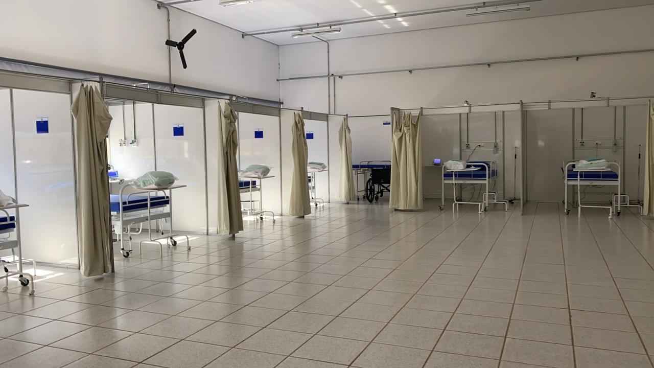 Hospitais de campanha no Sul de MG reforçam atendimento da Covid-19 em seis meses de casos