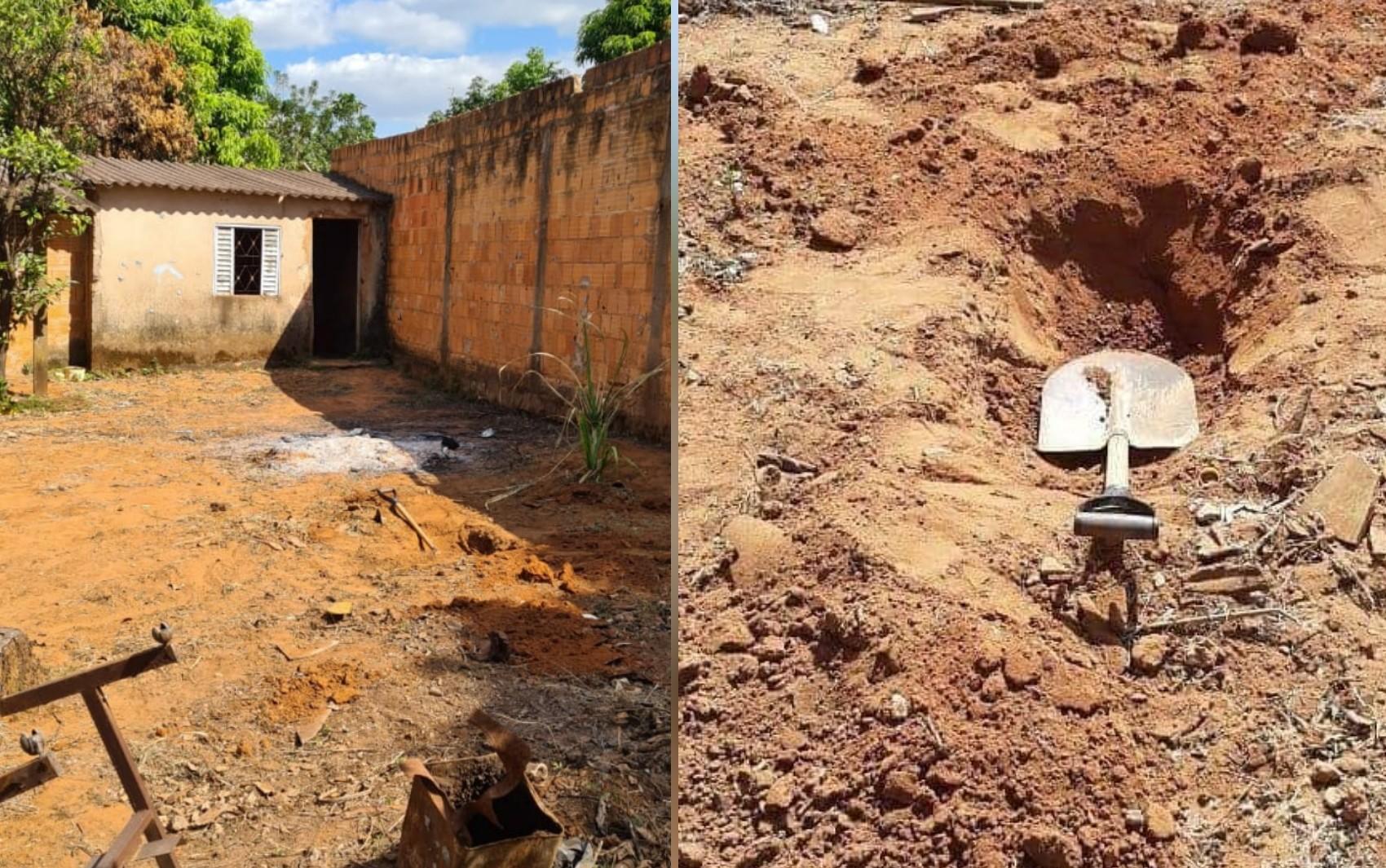 Jovem é preso suspeito de matar a mãe com martelo e alegar que voz mandou cometer o crime, em Águas Lindas de Goiás