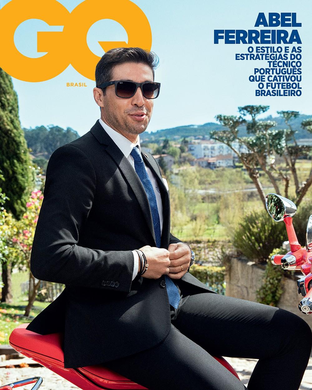 Abel Ferreira, capa da #GQAbril (Foto: Foto: DARYAN DORNELLES / Assistente de fotografia: ARMANDO BARÃO / Tratamento de imagem: RG IMAGEM)
