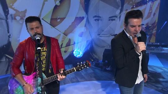Marcos & Belutti lançam no Fantástico colaboração com Marília Mendonça