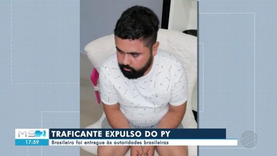 Traficante expulso do Paraguai é entregue às autoridades brasileiras