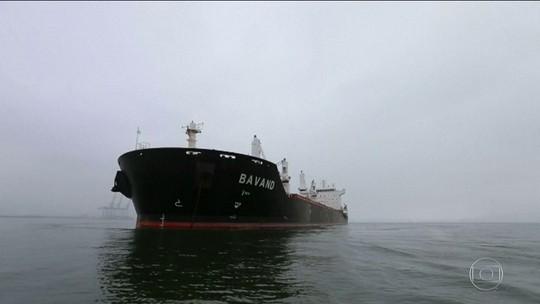 Exportadora que alugou navios iranianos diz que sanções não se aplicam à Petrobras e ao transporte de produtos agrícolas