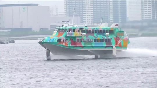 Um passeio por Tóquio e a vista das águas limpas dos rios e canais