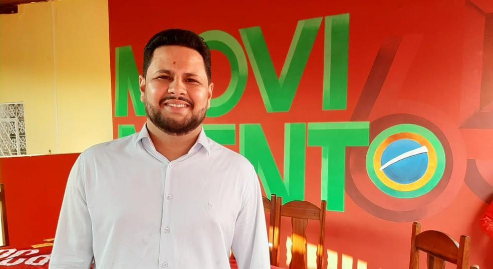Samuel Costa é o indicado pelo PCdoB para concorrer à Prefeitura de Porto Velho — Foto: Diêgo Holanda/G1