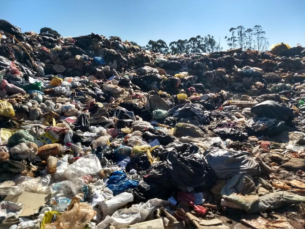 Extinção de lixões deve contribuir com o meio ambiente.  (Foto: Ederson Hising/G1)