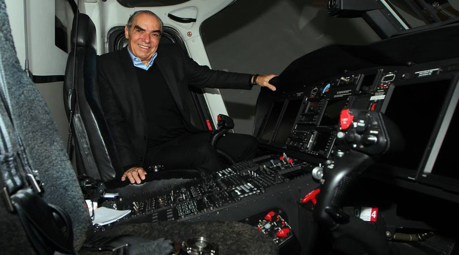 Michael Klein, da Icon Aviation (Foto: Estadão Conteúdo)
