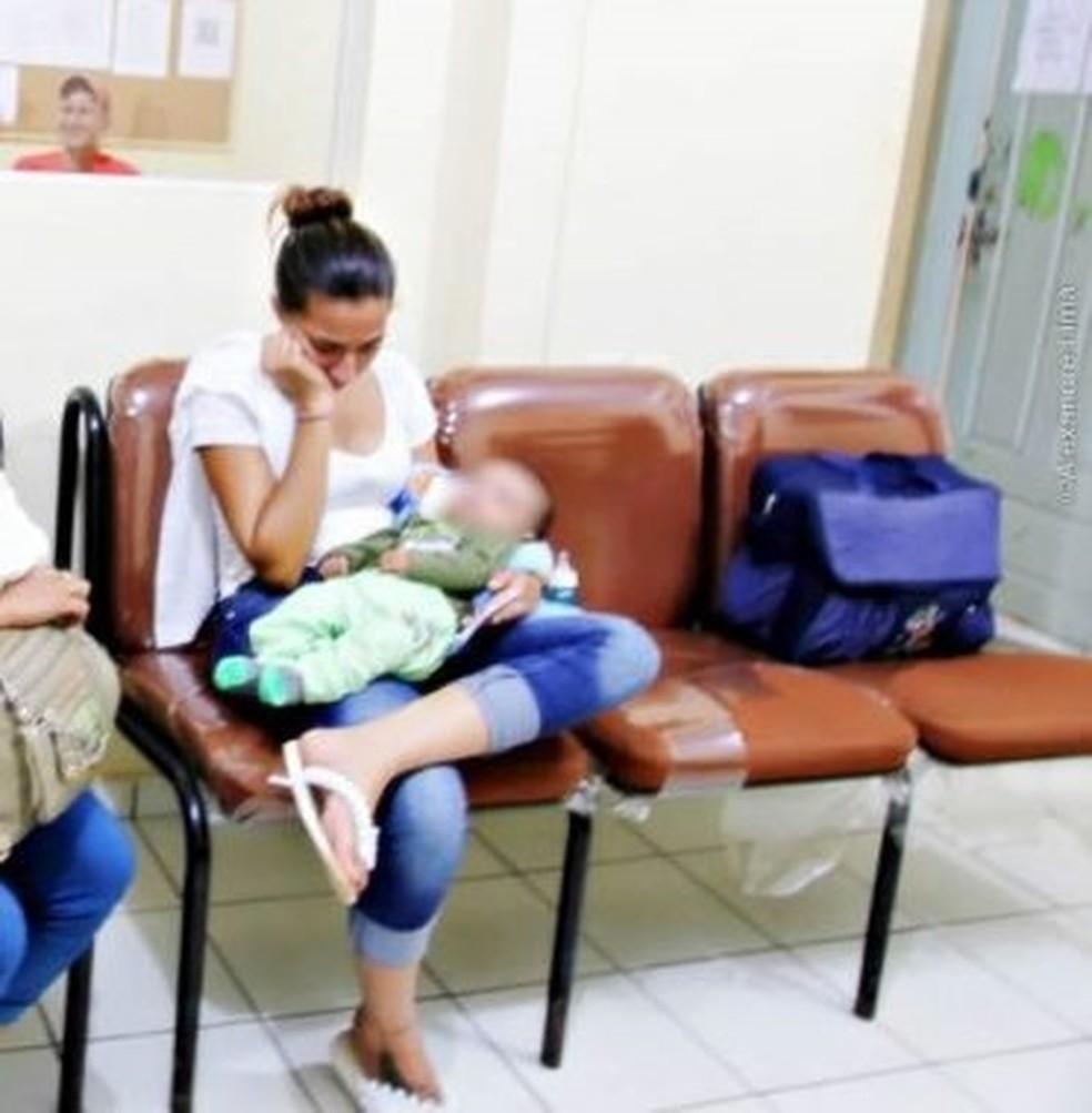 Mulher pagou R$ 1,9 mil por bebê, segundo a polícia e deve responder por compra de incapaz (Foto: Alexandre Lima/Arquivo pessoal)