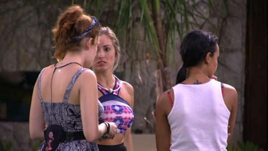 Jéssica declara para sisters: 'A gente tem que pegar o Anjo'