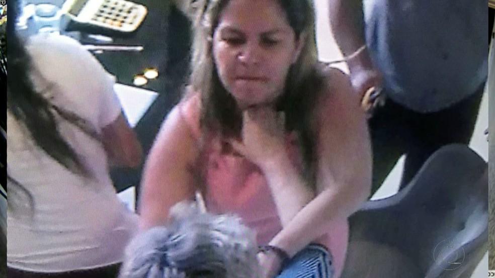 Vereadora Raíssa Lacerda se envolveu em confusão em condomínio de luxo de João Pessoa (Foto: Reprodução/TV Cabo Branco)