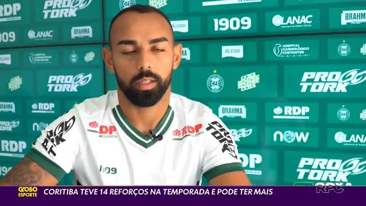Com Dalberto, Coritiba chega a 14 contratações