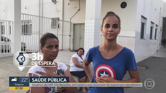 Moradores de Santa Luzia reclamam de demora para atendimento em UPA