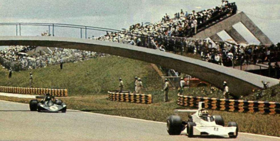Wilsinho Fittipaldi completou prova extracampeonato de Brasília em quarto — Foto: Reprodução