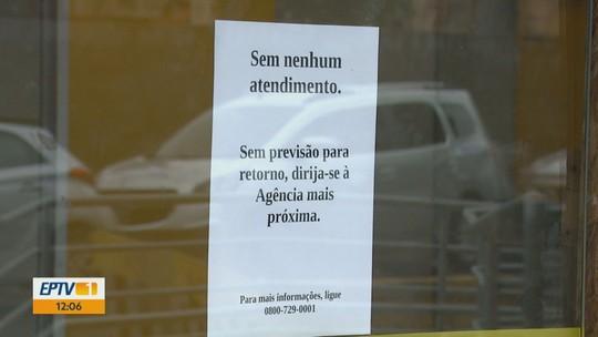 Tambaú continua sem serviços de três bancos 9 dias após ataques