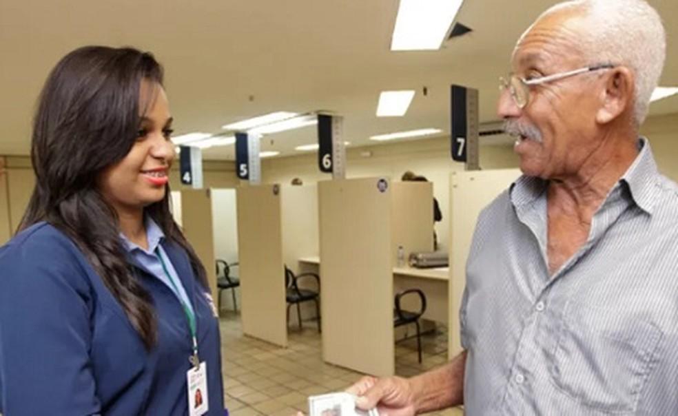 Recadastramento de aposentados  e pensionistas segue suspenso em maio — Foto: Divulgação / Saeb